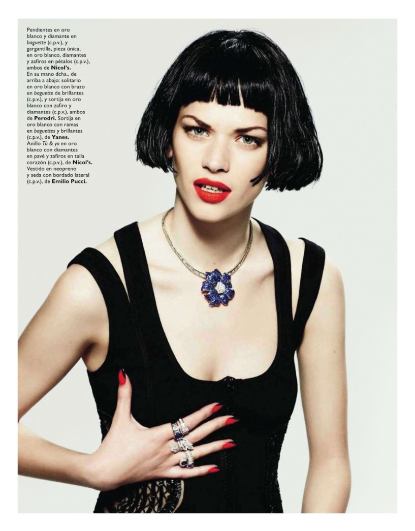 Grazia Spanien 23 April 2014, Jewelry