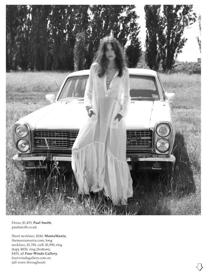 Elle Australia May 2014