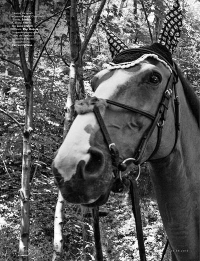 Crazy Horse: Vilde Gotschalksen By Fabio Abecassis For Vanity Fair Italia 20th August 2014