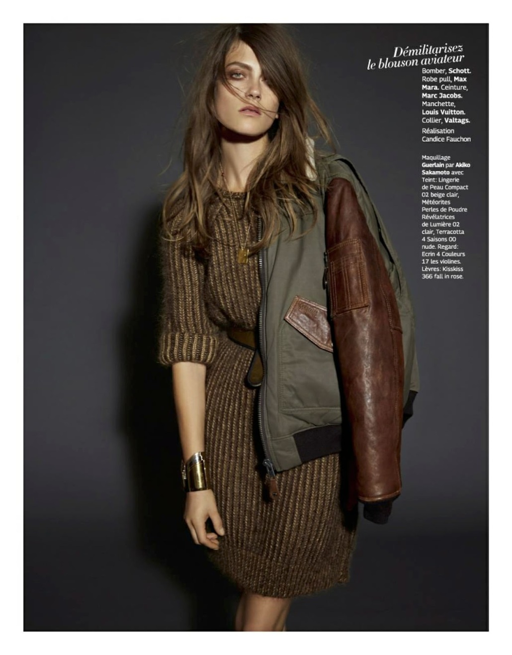 Sortez Du Rang:  By Bruna Kazinoti For Grazia France 17th October 2014