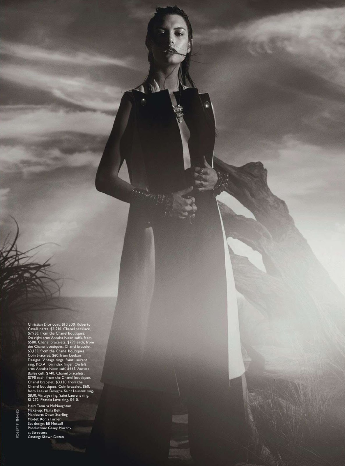 By Robbie Fimmano For Vogue Australia January 2015