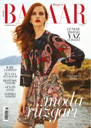 Harper's Bazaar Turkey June 2015 by Cihan Oncu