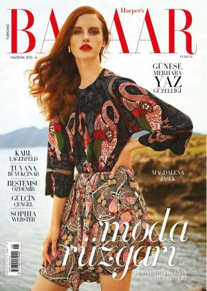 Harper's Bazaar Turkey June 2015 by Cihan Oncu